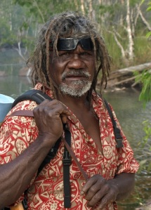 Bev and I were taken into an Aboriginal family on Groote Eylandt and this is our nephew Jamila