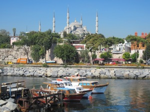 Blue Mosque, Istanbul.  Istanbul is our favorite city.