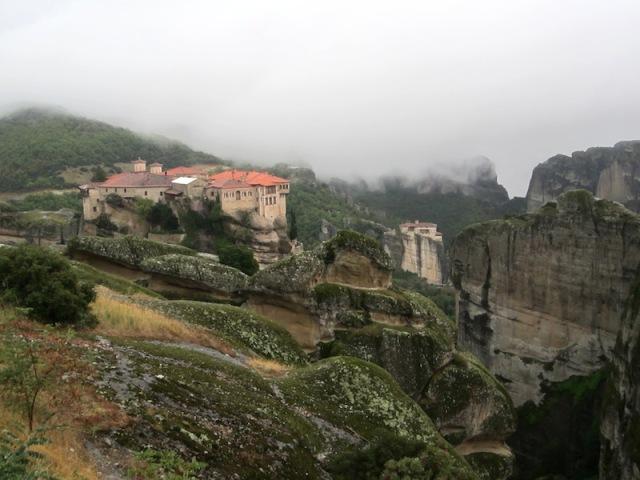 Meteora monasteries, Greece.