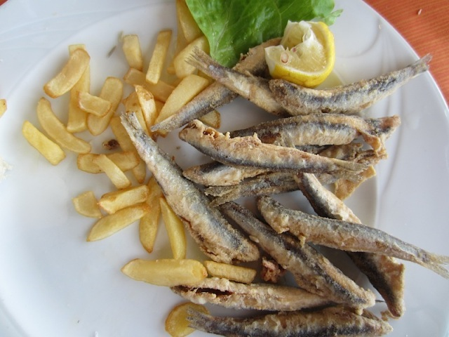 The local equivalent to English whitebait.