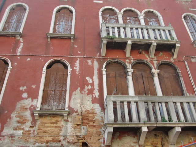 There will always be work for brickies, stonemasons and restorers in Venice.