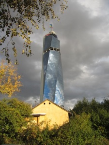 The Avaz Twist Tower.