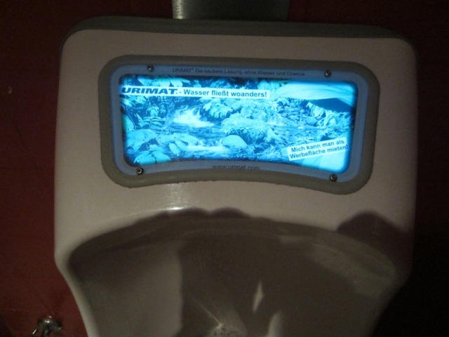Urinal.