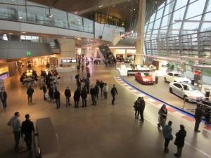 Inside the BMW  World