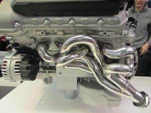 A BMW motor.