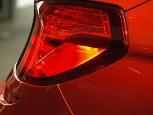 Tail light of the M6 Coupe.