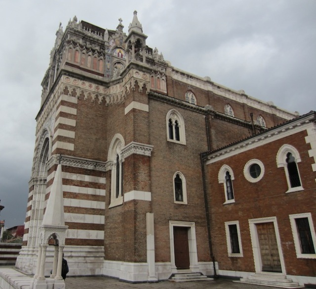 The Capuchin church. Capuchin was the local order.