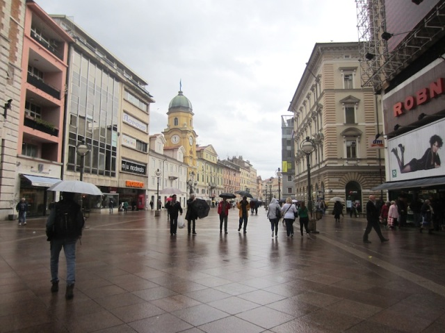 Rijeka mall.