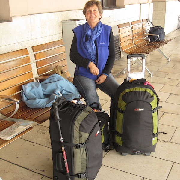 Bev on Zagreb railway station.
