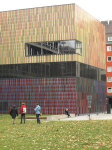 The incredibly colourful Museum of Modern Art.