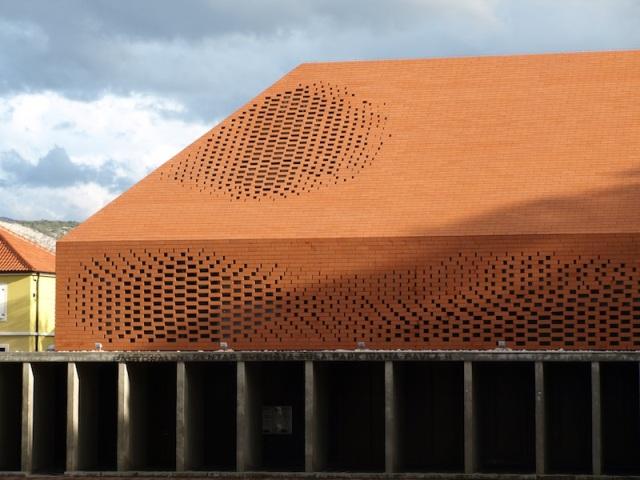 An amazing brick roof.