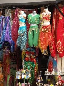 Turkish belly dancing gear.