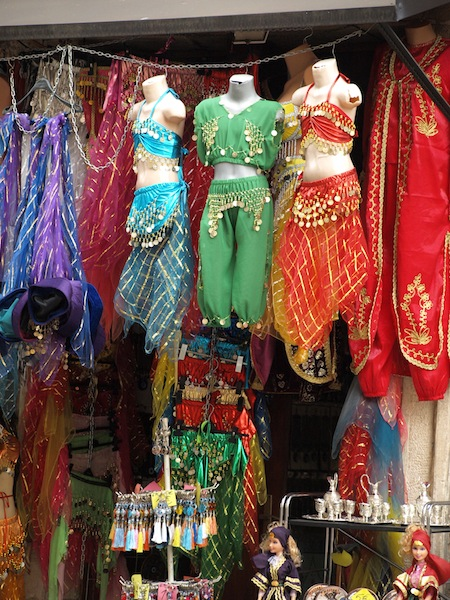 Turkish belly dancing gear.