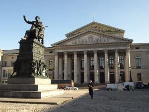The National Theatre in Max-Joseph Platz.