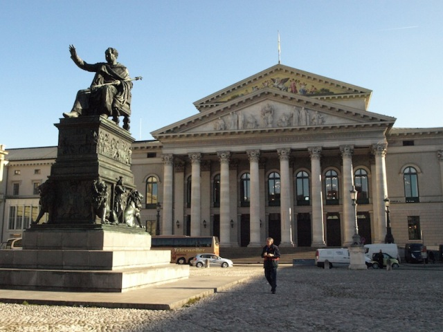 The National Theatre in Max-Joseph Platz.