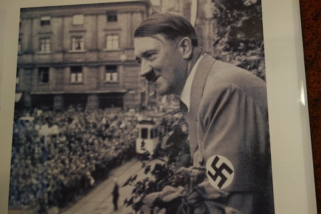 Hitler, one of the many who have who changed the course of world history.