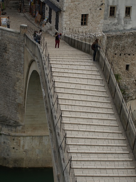 In 1566 the Old Mostar Bridge was the widest arch bridge in the world.