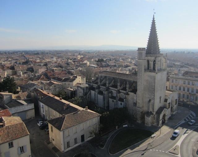 The town of Tarascon.