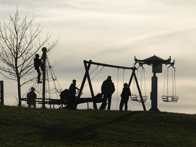 Kids' playground.
