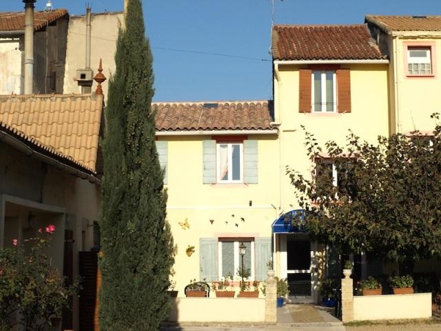 The Hotel du Viaduc main entrance.