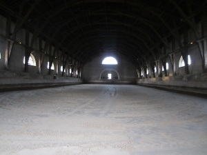 There were five buildings like this, mainly used for dressage and other horse activities.