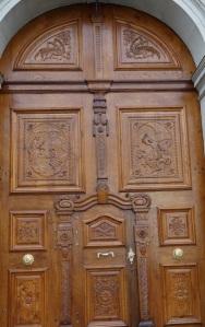 A door within a door.