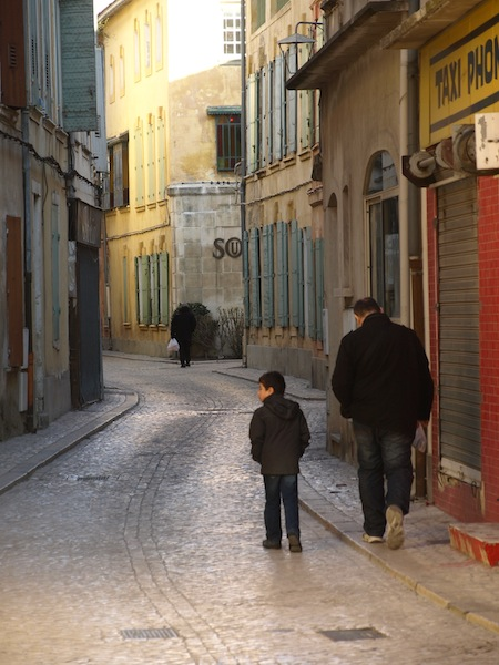 Life moves slowly in the back lanes of Tarascon.