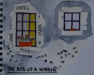 Of all the windows we have seen so far I think this one is my favourite.