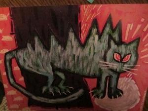 8 green cat#3