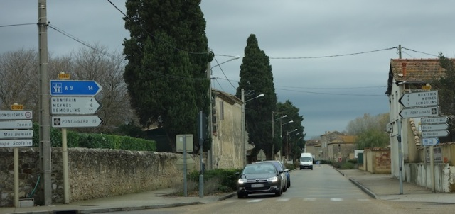 Unfortunately not all roads in southern France are as deserted as this one.