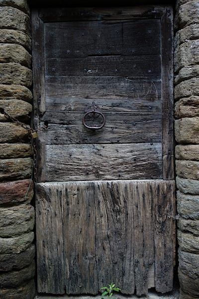 How old is this door and when was it opened last?