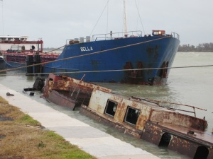 A vessel which plies the waterways today.