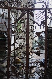A tool gate in St Germain de Calberte.