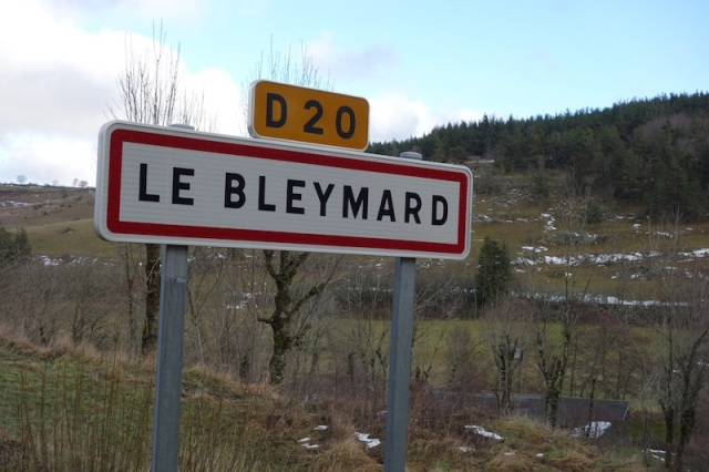 47 Le Bleymard sign