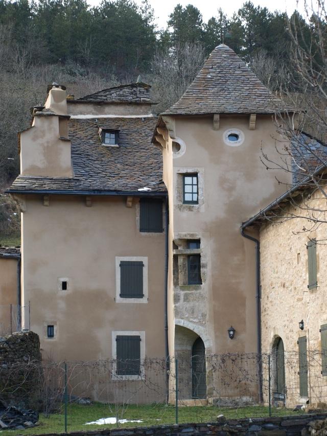 A mansion in Le Bleymard.