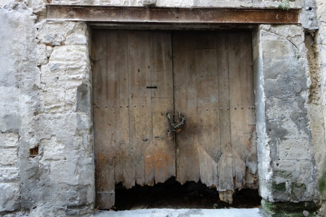 Another historical doorway due for a second repair job
