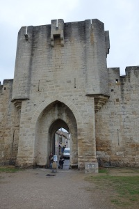 The barbican (main entrance).
