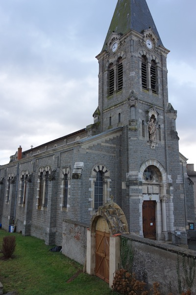 Saint Barthelemy church, Chirassimont.