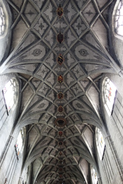 The ceiling vaults of the Bern Munster