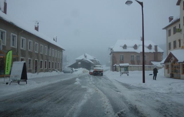 Lajoux village.