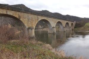 An amazing railway bridge.