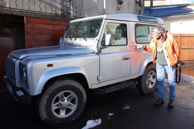 Special edition short wheelbase Landrover.