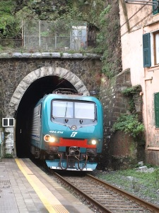 For the train buffs, the Genoa to La Spezia express.