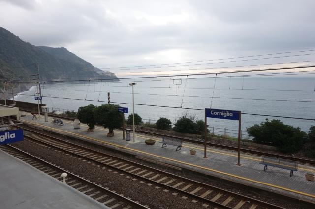 Cornigilia railway station