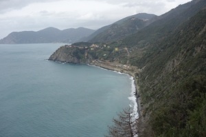 Breathtaking scenery looking back towards Corniglia.
