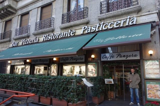 4 Milan cafe
