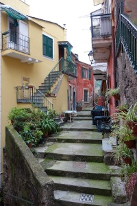 Alleyway in Monterosso.