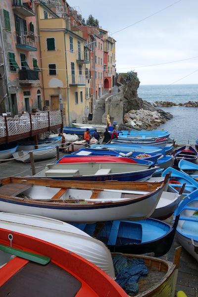 Portside Riomaggiore.