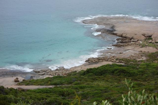 Granite coast at Esperance.