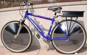The E-V Sunny bicycle.